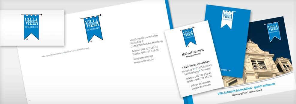 Corporate Designer Logo Visitenkarten Grafiker Hamburg